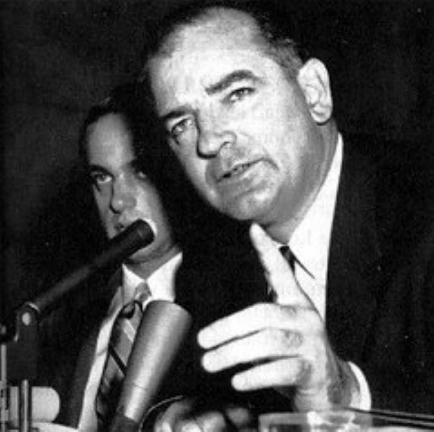 """the age of mccarthyism The term """"mccarthyism"""" originated when sen joseph mccarthy made a speech in 1950 claiming that hundreds of communists were working."""